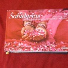 Livres d'occasion: SABIDURIAS 365 PENSAMIENTOS DE MAESTROS DE LA INDIA -D. PONS-FÖLLMI & O. FÖLLMI - ED. LUNWERG. Lote 262154920