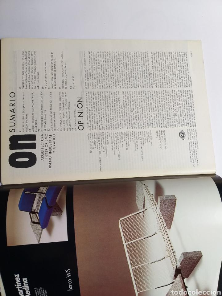 Libros de segunda mano: 5 revistas On Diseño. Números 46 47 101 123 y 137 - Foto 8 - 262261045
