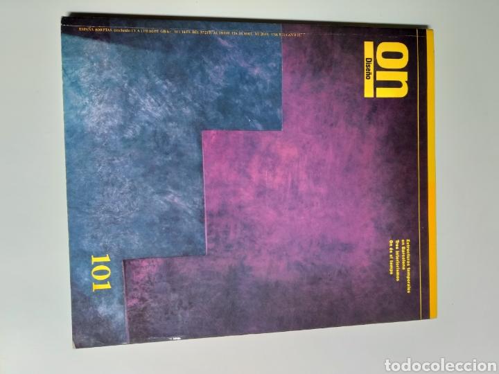 Libros de segunda mano: 5 revistas On Diseño. Números 46 47 101 123 y 137 - Foto 9 - 262261045