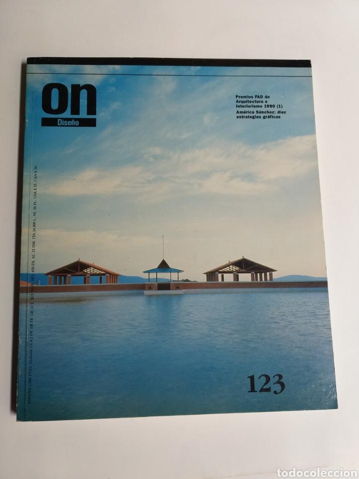 Libros de segunda mano: 5 revistas On Diseño. Números 46 47 101 123 y 137 - Foto 10 - 262261045