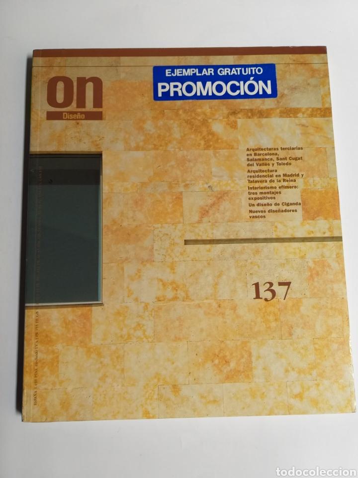 Libros de segunda mano: 5 revistas On Diseño. Números 46 47 101 123 y 137 - Foto 11 - 262261045