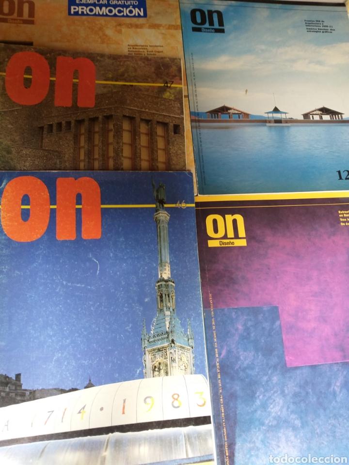 5 REVISTAS ON DISEÑO. NÚMEROS 46 47 101 123 Y 137 (Libros de Segunda Mano - Bellas artes, ocio y coleccionismo - Diseño y Fotografía)