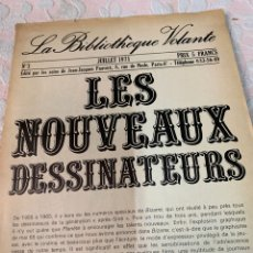 Libros de segunda mano: LES NOUVEAUX DESSINATEURS,JULIO 1971. Lote 263141870