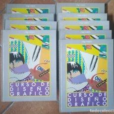 Libros de segunda mano: CURSO DE DISEÑO GRÁFICO. COMPLETO. 9 TOMOS (8 VOLÚMENES, EL 8º SON 2 TOMOS). ORBIS -FABBRI. Lote 263871780
