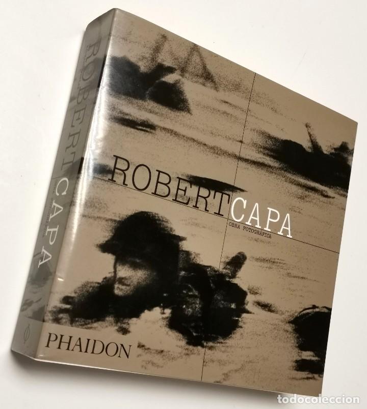 NUMULITE L0353 ROBERT CAPA OBRA FOTOGRÁFICA PHAIDON FOTOGRAFÍA (Libros de Segunda Mano - Bellas artes, ocio y coleccionismo - Diseño y Fotografía)