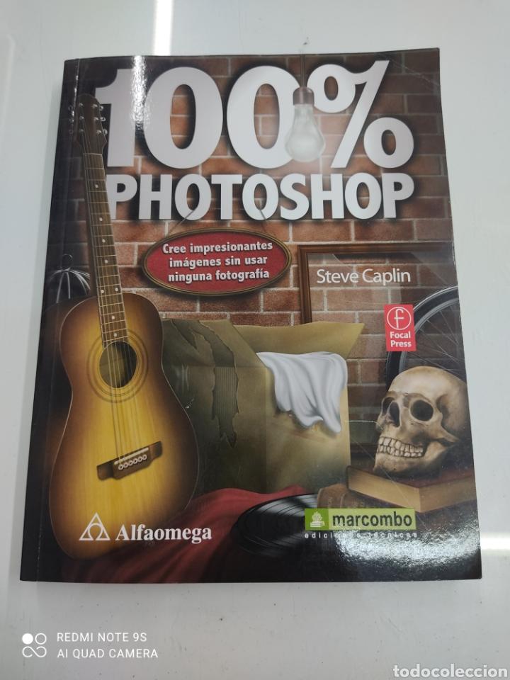 100% PHOTOSHOP CREE IMPRESIONANTES IMAGENES SIN USAR NINGUNA FOT OGRAFIA STEVE CAPLIN ALFAOMEGA NUEV (Libros de Segunda Mano - Bellas artes, ocio y coleccionismo - Diseño y Fotografía)