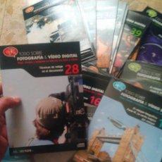 Livres d'occasion: TODO SOBRE FOTOGRAFÍA & VÍDEO DIGITAL - EL MUNDO, 2010 - CD-ROM - GRAN LOTE DE 48 ENTREGAS. Lote 266913034