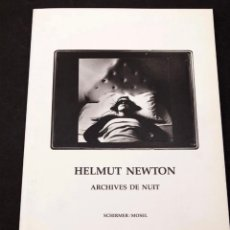 Libros de segunda mano: HELMUT NEWTON FOTOGRAFÍA EROTICA. Lote 269995063