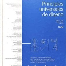 Libros de segunda mano: PRINCIPIOS UNIVERSALES DEL DISEÑO / WILLIAM LIDWELL Y OTROS / EDI. BLUME / 2008. Lote 273506253
