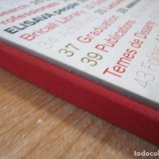 Libri di seconda mano: LIBRO ELISAVA 50 ANNIVERSARY ESCOLA SUPERIOR DE DISSENY I ENGINYERIA DE BARCELONA. Lote 273632603