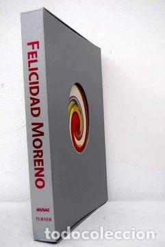 FELICIDAD MORENO / MUSAC, TURNER / ESTUCHE CON HOJAS DESPLEGABLES / 2006 (Libros de Segunda Mano - Bellas artes, ocio y coleccionismo - Diseño y Fotografía)