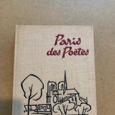 Libros de segunda mano: MAURICE RUE / PARIS DE POETES / FOTOLIBRO / PHOTOBOOK. Lote 274549198