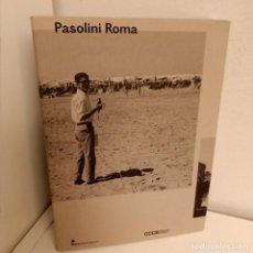 Livres d'occasion: CATALOGO PASOLINI ROMA, CINE / CINEMA, SKIRA FLAMMARION, 2013. Lote 274880168