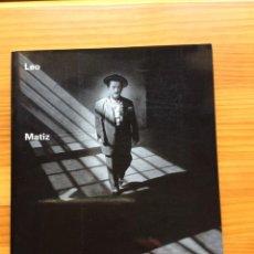 Libri di seconda mano: LEO MATIZ. PHE00. Lote 275098028