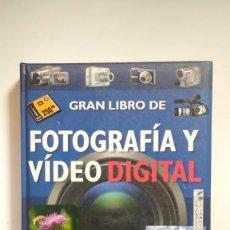Libros de segunda mano: GRAN LIBRO DE FOTOGRAFÍA Y VIDEO DIGITAL - SERVILIBRO EDICIONES. Lote 278389853