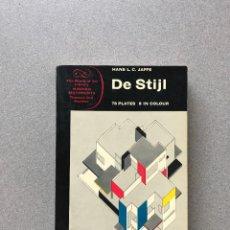 Libros de segunda mano: DE STIJL. JAFFE, HANS L.C. THAMES AND HUDSON, LONDON, 1970. DISEÑO. ARTE. Lote 278401623