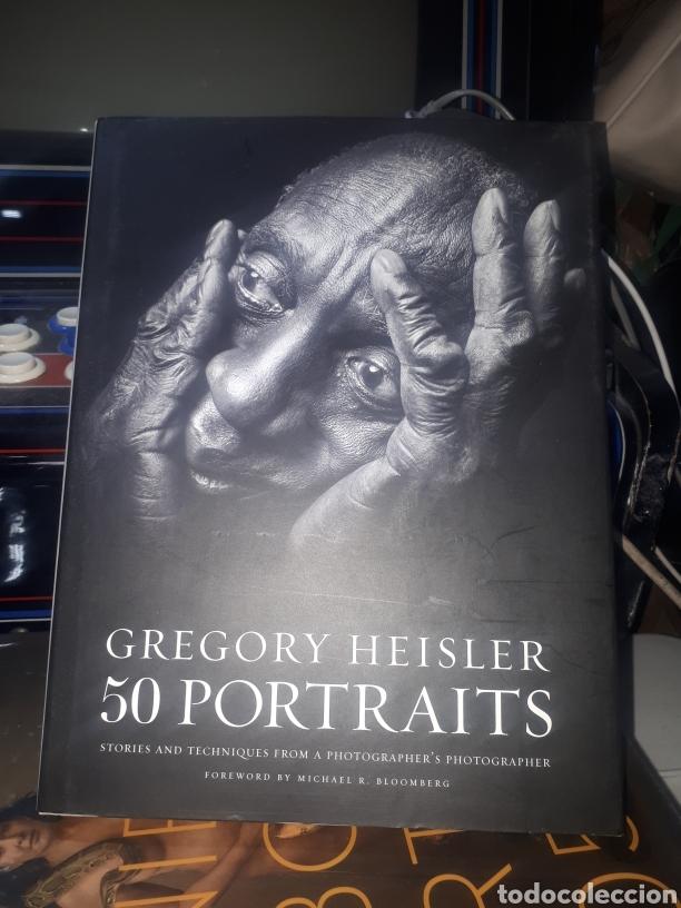 LIBRO FOTOGRAFÍA GREGORY HEISLER 50 PORTRAITS (Libros de Segunda Mano - Bellas artes, ocio y coleccionismo - Diseño y Fotografía)