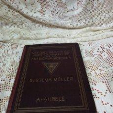 Libros de segunda mano: MUY INTERESANTE LIBRO MÉTODO PRÁCTICO SOBRE LA CONFECCIÓN DE LA AMERICANA MODERNO SISTEMA MÜLLER.. Lote 281063998