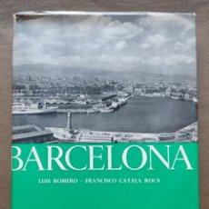 Libros de segunda mano: CATALÀ ROCA FOTOGRAFÍA BARCELONA LIBRO DESCATALOGADO 1954. Lote 288148363