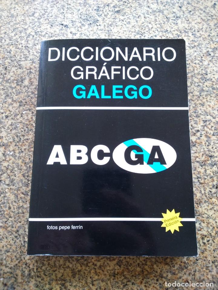 DICCIONARIO GRAFICO GALEGO -- FOTOS PEPE FERRIN -- AÑO 2010 -- LIBRO DE FOTOGRAFIAS -- (Libros de Segunda Mano - Bellas artes, ocio y coleccionismo - Diseño y Fotografía)