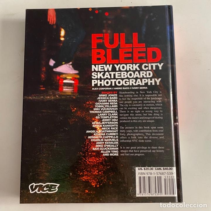 Libros de segunda mano: Libro Full Bleed New York City skateboard photography Tapa dura - Foto 2 - 288189463