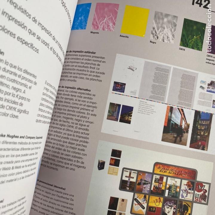 Libros de segunda mano: Libro manual de producción guía para diseñadores gráficos pad - Foto 5 - 288190023