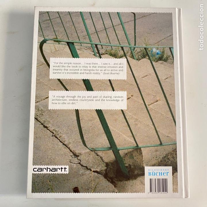 Libros de segunda mano: Libro Dirt ollies A skateboard trip to Mongolia Carhartt - Foto 2 - 288191623