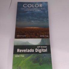 Libros de segunda mano: COLOR JEROD FOSTER Y REVELADO DIGITAL JEFF SCHEWE. ANAYA PHOTOCLUB. Lote 290081988