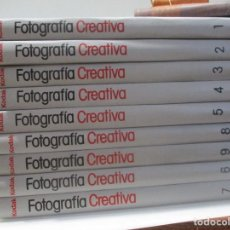Libros de segunda mano: ENCICLOPEDIA SALVAT DE FOTOGRAFÍA CREATIVA (9 TOMOS) W9990. Lote 292001123