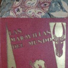 Libros de segunda mano: LAS MARAVILLAS DEL MUNDO. Lote 295860843