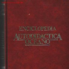 Enciclopedias de segunda mano: AUTODIDACTICA OCEANO .. 2 TOMOS 1990 .. POR JULIO VERNE .. AÑOS 30. Lote 20496477