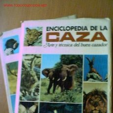Enciclopedias de segunda mano: ENCICLOPEDIA DE LA CAZA VERGARA. EN DOS TOMOS. COMPLETA. AÑO 1969.. Lote 27170670