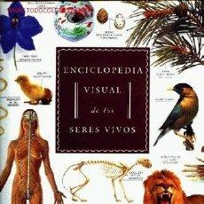 Enciclopedias de segunda mano: ENCICLOPEDIA VISUAL SERES VIVOS. Lote 26510562