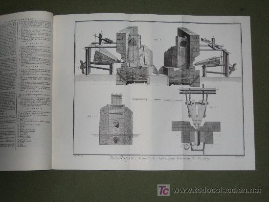 ENCICLOPEDIA - ENCYCLOPEDIE DE DIDEROT ET D'ALEMBERT (Libros de Segunda Mano - Enciclopedias)