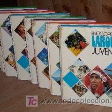 Enciclopedias de segunda mano: ENCICLOPEDIA LAROUSSE JUVENIL 8T POR ESTEVE BUSQUETS Y OTROS DE ED. VERGARA EN BARCELONA 1978. Lote 26779811