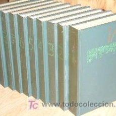Enciclopedias de segunda mano: MODERNA ENCICLOPEDIA ILUSTRADA 10T DE CÍRCULO DE LECTORES EN BARCELONA 1969. Lote 26406469