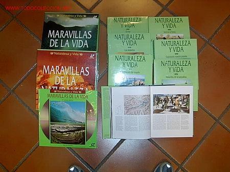 ENCICLOPEDIA TEMATICA - NATURALEZA Y VIDA - NATIONAL GEOGRAPHIC 1995 - 7 TOMOS + 20 DISCOS LASER (Libros de Segunda Mano - Enciclopedias)