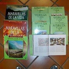 Enciclopedias de segunda mano: ENCICLOPEDIA TEMATICA - NATURALEZA Y VIDA - NATIONAL GEOGRAPHIC 1995 - 7 TOMOS + 20 DISCOS LASER. Lote 9459982