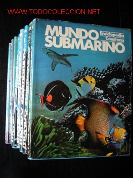 MUNDO SUBMARINO - ENCICLOPEDIA COSTEAU - 10 TOMOS. (Libros de Segunda Mano - Enciclopedias)
