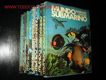 Enciclopedias de segunda mano: MUNDO SUBMARINO - ENCICLOPEDIA COSTEAU - 10 Tomos. - Foto 2 - 21810285