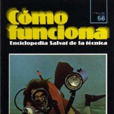 Enciclopedias de segunda mano: COMO FUNCIONA - FASCÍCULO 56 DEL TOMO 4 - ENCICLOPEDIA SALVAT DE LA TÉCNICA - 1980. Lote 10571226