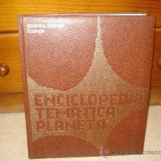 Enciclopedias de segunda mano: ENCICLOPEDIA TEMATICA PLANETA- BOTANICA, ZOOLOGIA, ECOLOGIA - PLANETA 1974. Lote 11322389
