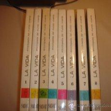 Enciclopedias de segunda mano: LA VIDA. ENCICLOPEDIA DEL MUNDO VIVIENTE. 8 TOMOS (COMPLETA). SALVAT EDITORES. 1964. MUY ILUSTRADA.. Lote 26141649