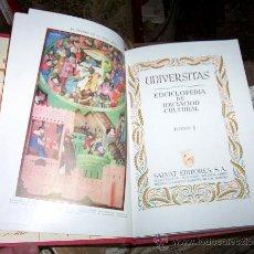 Enciclopedias de segunda mano: ENCICLOPEDIA UNIVERSITAS, 17 TOMOS. PERFECTA.. Lote 26698437
