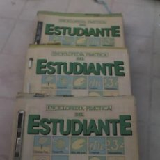 Enciclopedias de segunda mano: ENCICLOPEDIA PRACTICA DEL ESTUDIANTE - LOTE DE 3 LIBROS - UNICOS EN EL MERCADO Y EN OFERTA!!. Lote 26693891