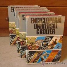 Enciclopedias de segunda mano: ENCICLOPEDIA UNIVERSAL GROLIER - 5 TOMOS - AÑO 1972. Lote 12992311