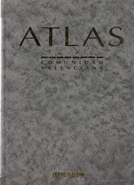 Alicante atlas tem tico de la comunidad val comprar - Libreria segunda mano valencia ...