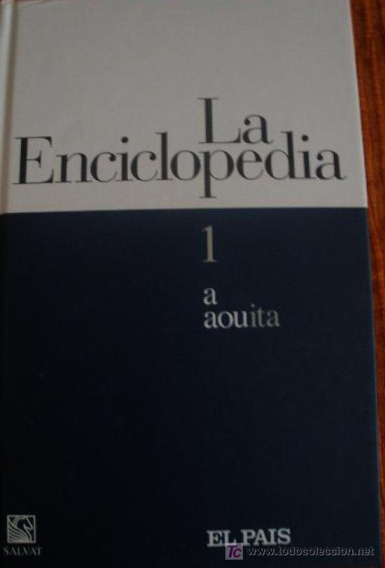 ENCICLOPEDIA EL PAIS (Libros de Segunda Mano - Enciclopedias)