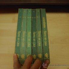 Enciclopedias de segunda mano - Enciclopedia Flores en Casa, Burulan Ediciones, 6 volumenes - 15848281