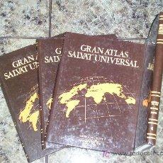 Enciclopedias de segunda mano: COLECCION DE 4 TOMOS GRAN ATLAS SALVAT UNIVERSAL - 1992 - COMO NUEVOS. Lote 16342981